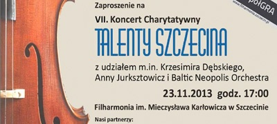"""DLL Partners sponsorem VII Koncertu Charytatywnego """"Talenty Szczecina"""""""